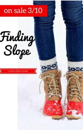 Finding Slope: A Taking Flight Novella Sneak Peek by erinbrownwrites