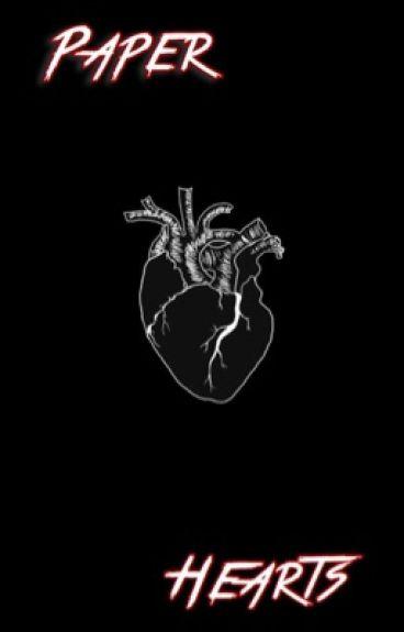 Paper hearts ✦ j.b.