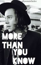More Than You Know (h.s) by allysonnicholee