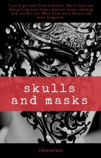 Skulls and masks by Theashfall
