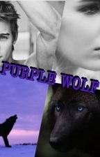 Purple wolf by BrookeCurren