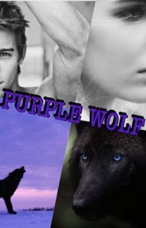 Purple wolf by BrookeCurren