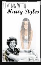 living with harry styles(book cover by simplyeffective) by tbirdcool2