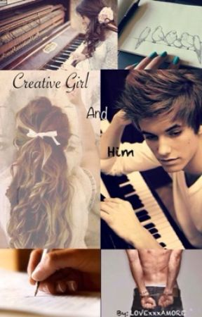 Creative Girl and Him by LOVExxxAMORE