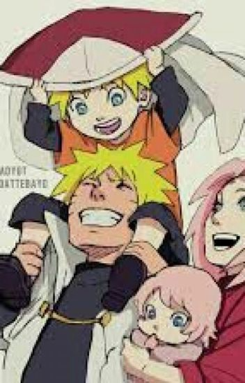 narusaku and the baby