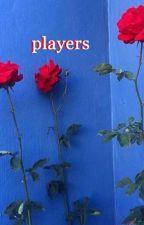 players; cake. by dorkyluke