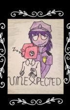 Purple Guy X Phone Guy (Unexpected) (book 1) by Loon_Sinuous