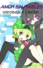 AMOR SIN PIXELES (Enderman x Creeper) by Creepy-Lilly