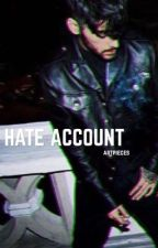 hate account | z.m b1 by artpieces