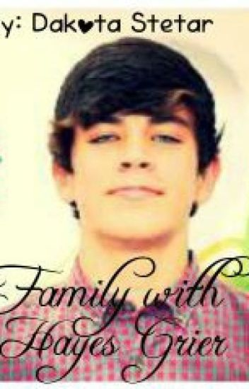 Family with Hayes Grier