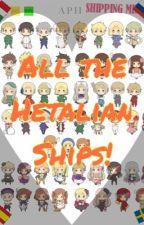 All the Hetalian Ships [ON HOLD] by Onyxai