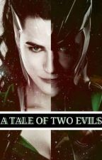 Loki and Morgana: A Tale of Two Evils by mythandmagic