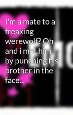 I'm a mate to a freaking werewolf? Oh and i met him by punching his brother in the face... by nightgirl347