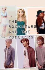 The Rockstars and The Popstars by ElsaFrozen8