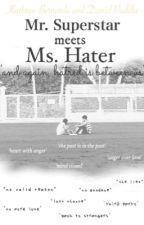 Mr. Superstar meets Ms. Hater by kiddointhedark_