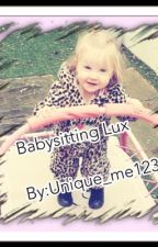 Babysitting Lux by unique_me123
