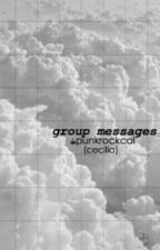 Group Messages - 5SOS (tłumaczenie) by onlysleeping