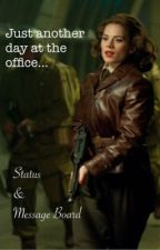 Just another day at the office... by Peggy_Carter