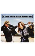 A love born in an horror set|Evan Peters,Taissa Farmiga by ohitsbenna