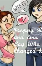 Preppy Girl and Emo Boy Who Changed Her by emmyxeclipse