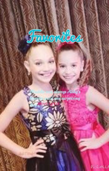 Favorites (A Mackenzie Ziegler fanfiction)