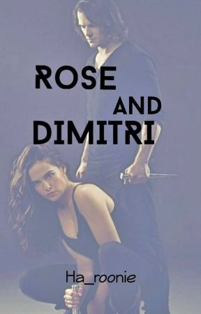 Rose and Dimitri (Vampire Academy) by ha_roonie