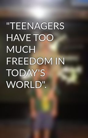 teenagers nowadays are given too much freedom If you think of the teenage brain as a car, today's adolescents acquire an  the  reward system of their brains lighted up much more when they  puberty arrives  earlier, and the motivational system kicks in earlier too  teenagers slowly  acquire both more skill and more freedom—a driving apprenticeship.