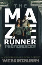 The Maze Runner Cast Preferences by webkinzbunny
