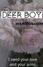 Deer boy ★muke hybrid A.U★ by XmikeyslionX