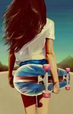 The Skater Girl by KayMarie121