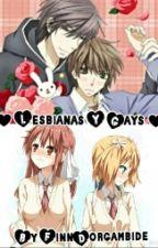 Lesbianas Y Gays #BubbleGum2017 by FinnDorgambide
