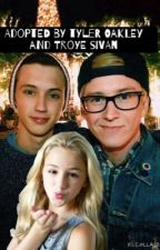 Adopted by Tyler Oakley and Troye Sivan (c.e.l) ON HOLD by pinkybrownmr