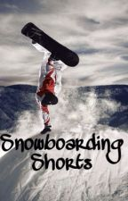 Snowboarding Shorts by k_rodd21