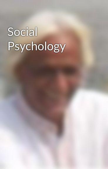 Social Psychology by RamBansal