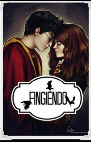 """Fingiendo"" harry y hermione"