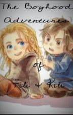 The Boyhood Adventures of Fili and Kili by kate_e_russell