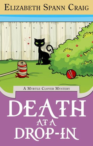 Death at a Drop-In: A Myrtle Clover Mystery