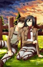 """I Saved You: Eren x Mikasa (Book two of """"To protect you"""") by pixxiewingz"""