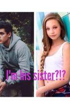 I'm his sister?!? by soccergirlamanda