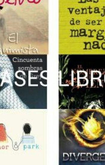 FRASES LIBROS *-*