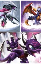 Skylanders universe:Roller brawl and the haunted void by qdollaz_