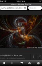 Percy Jackson of chaos by silverarroe
