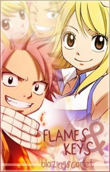 Flames & Keys ( Fairy Tail [Natsu x Lucy] fanfiction ) *Nalu oneshots*