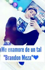 "Me enamore de un tal ""Brandon Meza"".❤ by ElenaMena18"