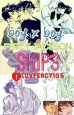 Percy jackson ships (boyxboy) by Iluvpercy105