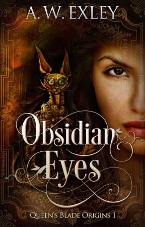 Obsidian Eyes by AWExley
