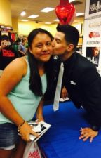 Meeting luis Coronel in person for the first time by LoveNatyy