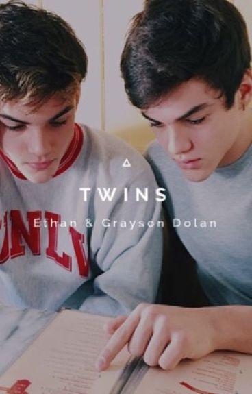 Twins - Ethan & Grayson Dolan.