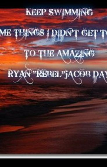 Ryan-My Rebel a Great Soul R.I.P by CupidA