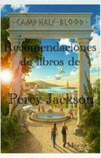 Recomendaciones de libros sobre Percy Jackson. by Miratge